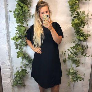 NWT Ann Taylor LOFT Black Dress M